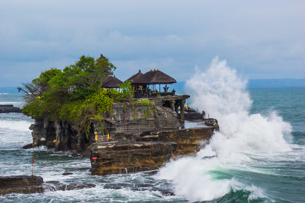 Temple at Tanah Lot.