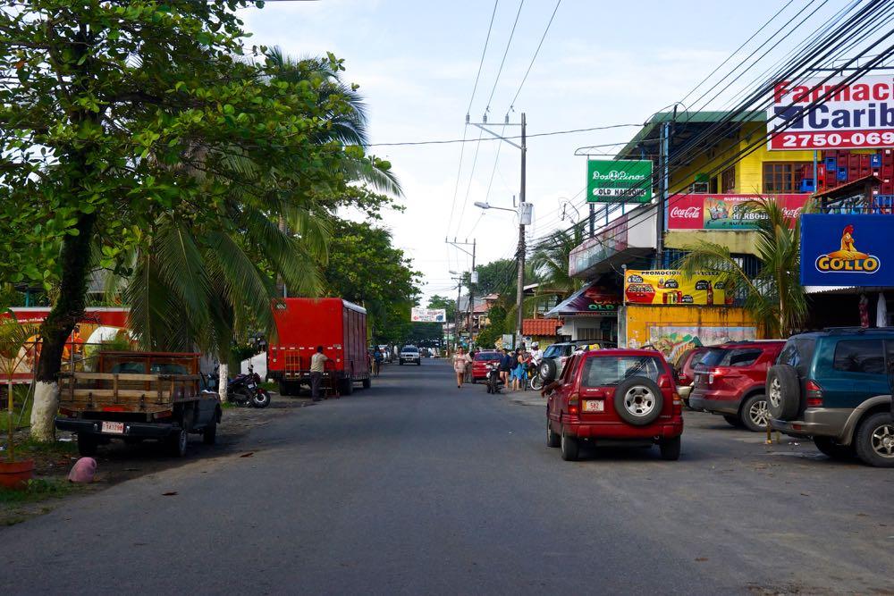 Main Street, Puerto Viejo.