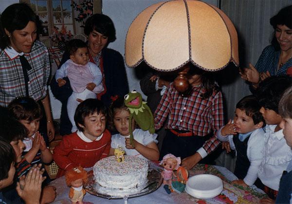 """Catalina Ramírez   """"Un cumpleaños mío con primos, amigos, rana renéy demás."""""""