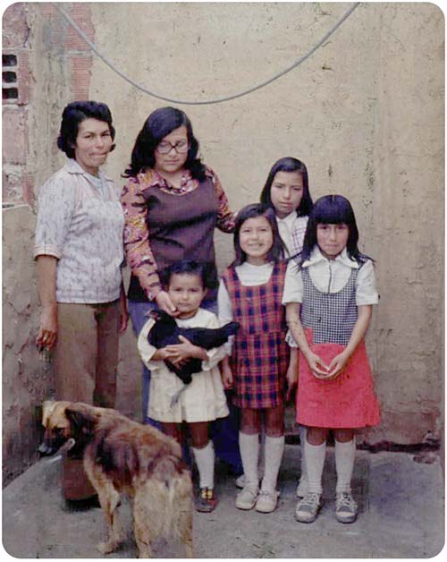 Angela Acosta,  Bogotá. c. 1980