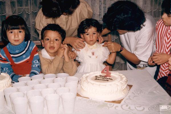 """Catalina Bojacá   """"Cumpleaños de Danielito.1987"""""""