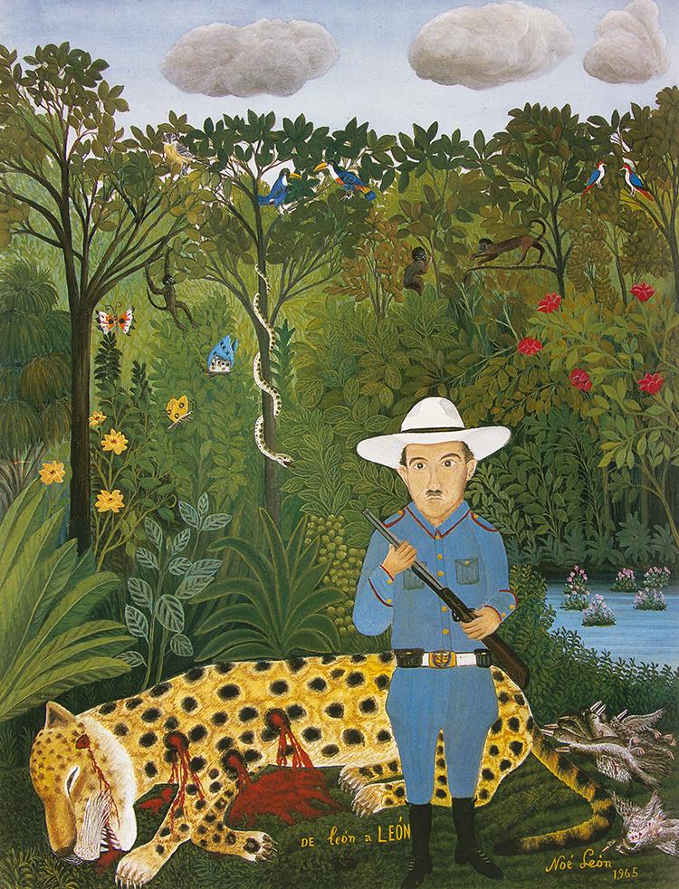 El pintor Oscar Barreto , Bogotá (COL).