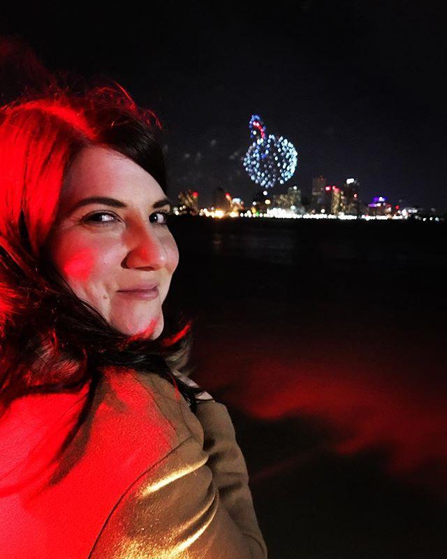 #happynewyear #newyearseve #crescentparknola #freezingcold #rosycheeks