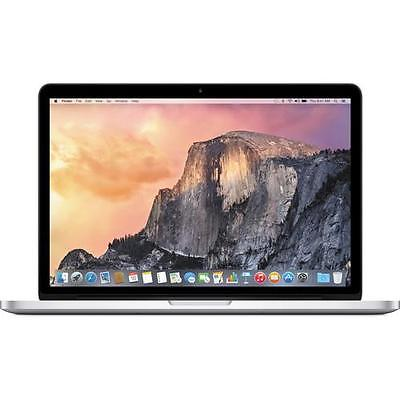 "13"" Macbook Pro with 8GB RAM and 128GB SSD storage."