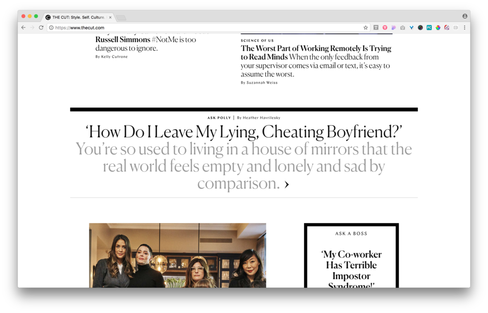 Sensitive Story / Headline