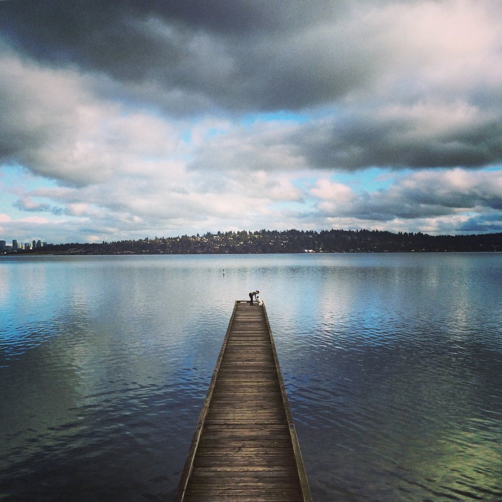 Fishing Pier, Lake Washington