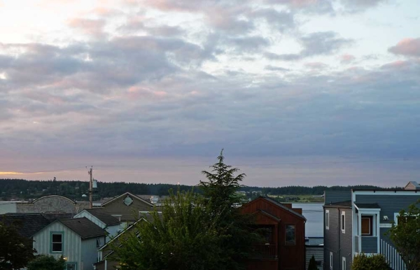 9 o'clock on Whidbey Island