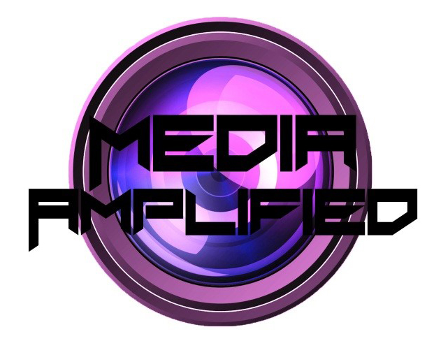 The Media Amplified Group Logo designed by students