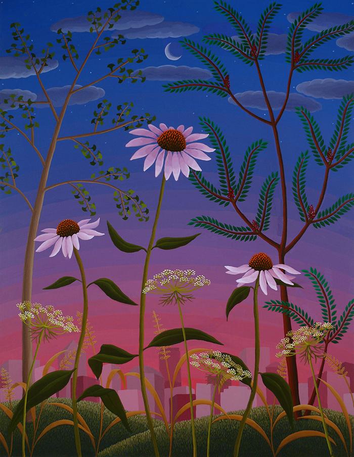 """""""Wildflowers"""" 22"""" x 17"""""""