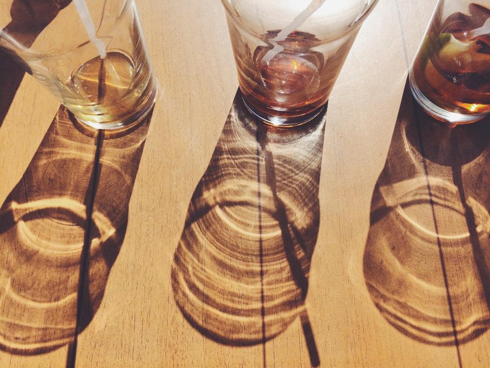 glass sundial
