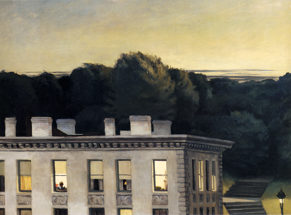 Edward Hopper - House at Dusk, 1935