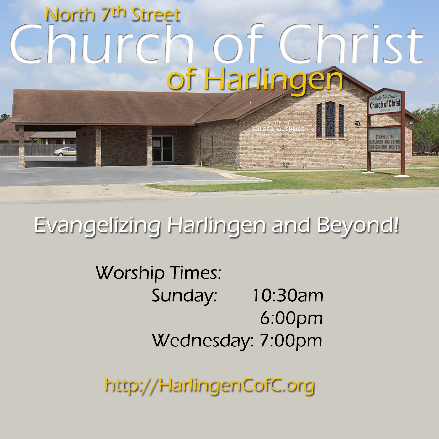 North 7th Street Church of Christ of Harlingen - Audio Sermons