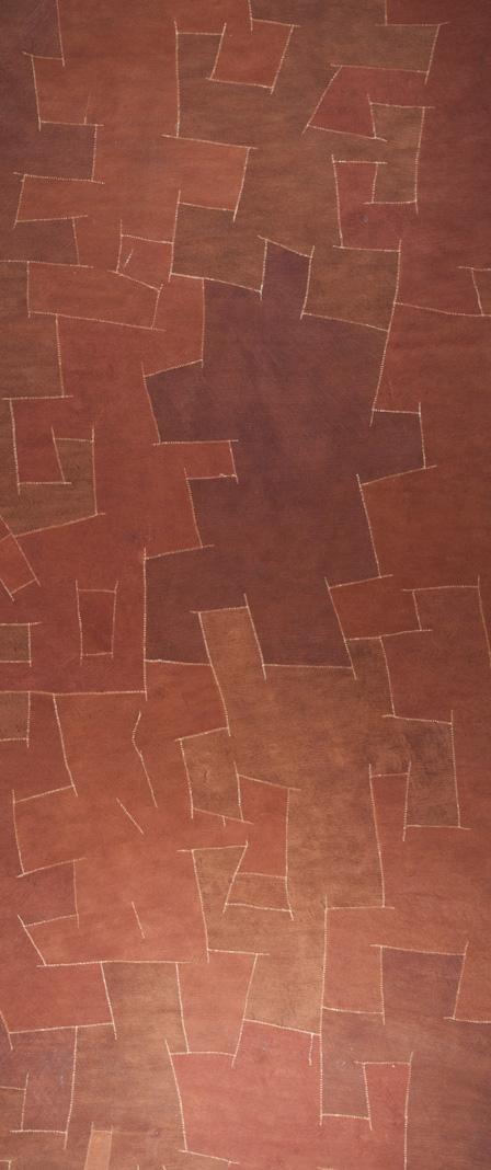 Orange Bark Panel