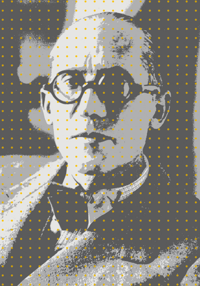 Arte | Le Corbusier | Dots | Exclusive Wallcovering