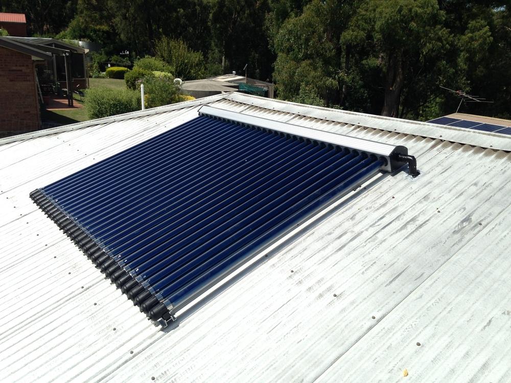 Efficient solar hot water