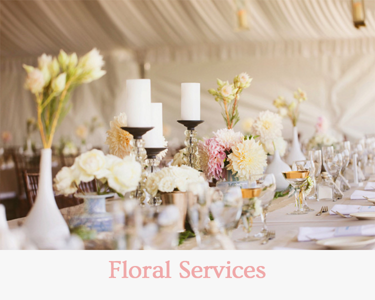 Floral Services - Wedding & Events Redding