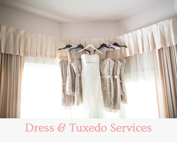 Dress & Tuxedo Services - Wedding & Events Redding