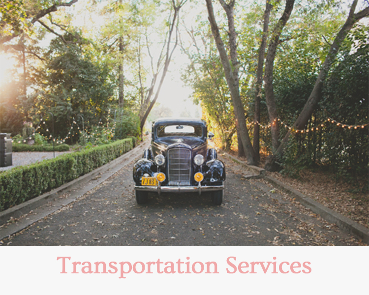 Transportation Services - Wedding & Events Redding