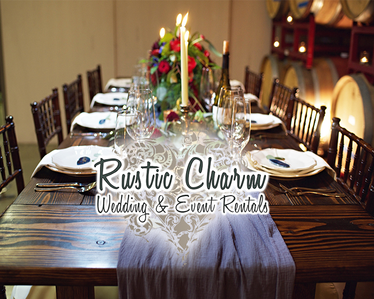 Norcal Weddings • Rustic Charm Rentals