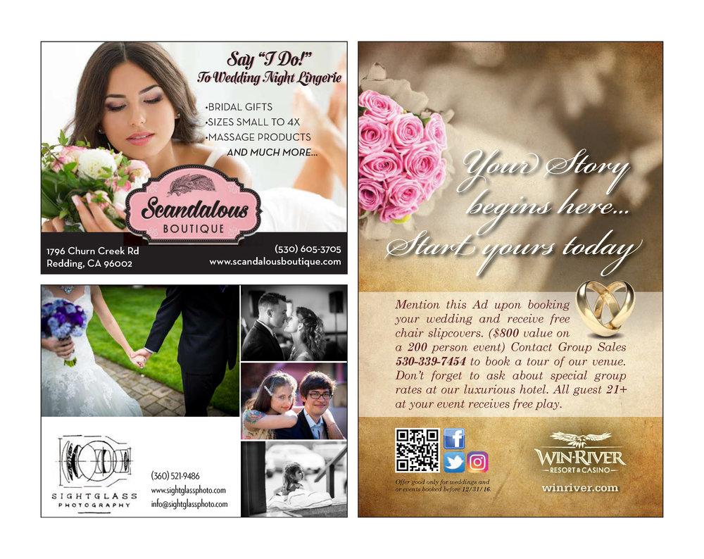 Enjoy Magazine   Redding Bridal Show   Wedding Style Guide