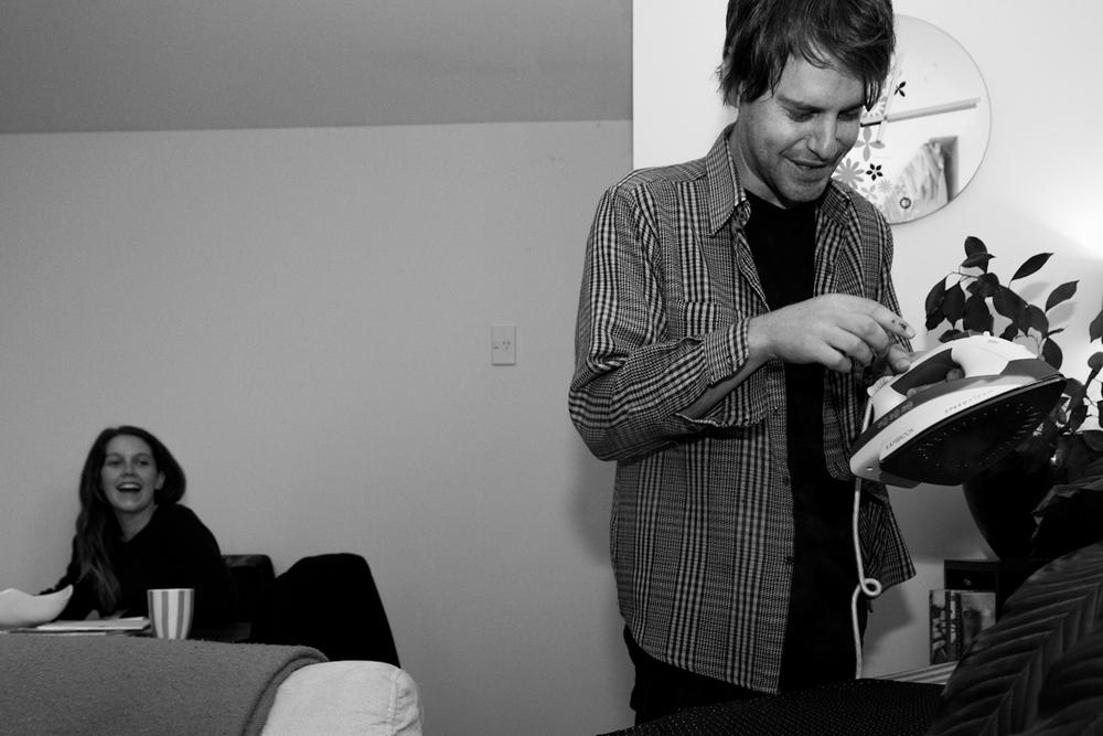 Steve Likes Ironing