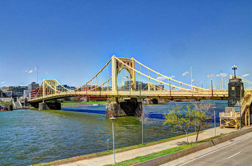 6th Street bridge with image fusion