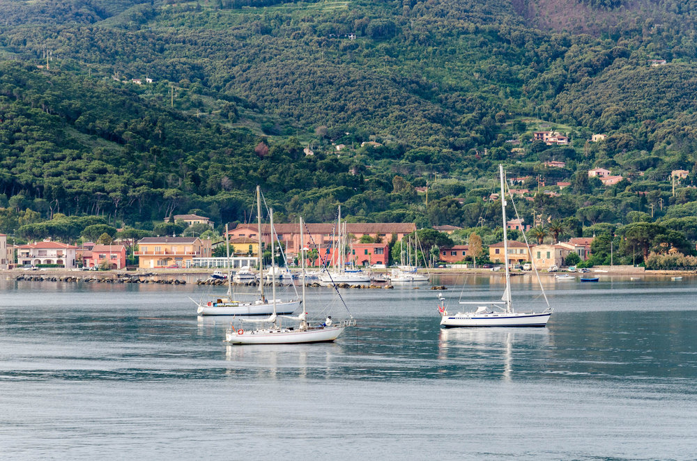 The Coast of Elba
