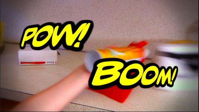 Pow! Boom!