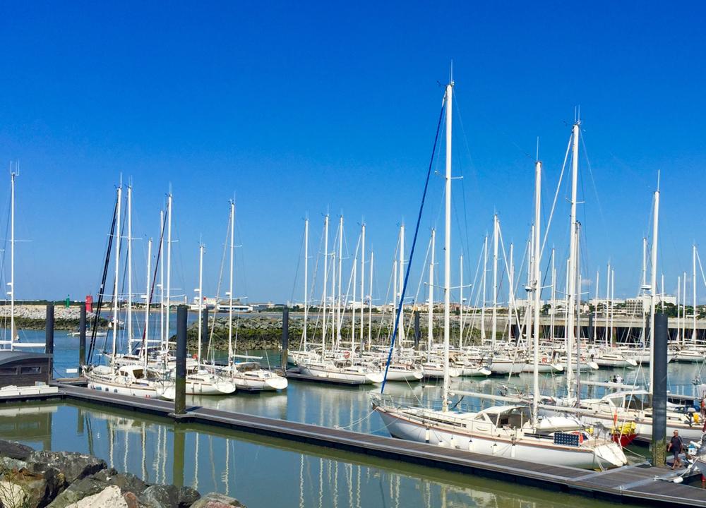 Ponton Amel, La Rochelle, iPhone 6 Plus, 30 July 2015.
