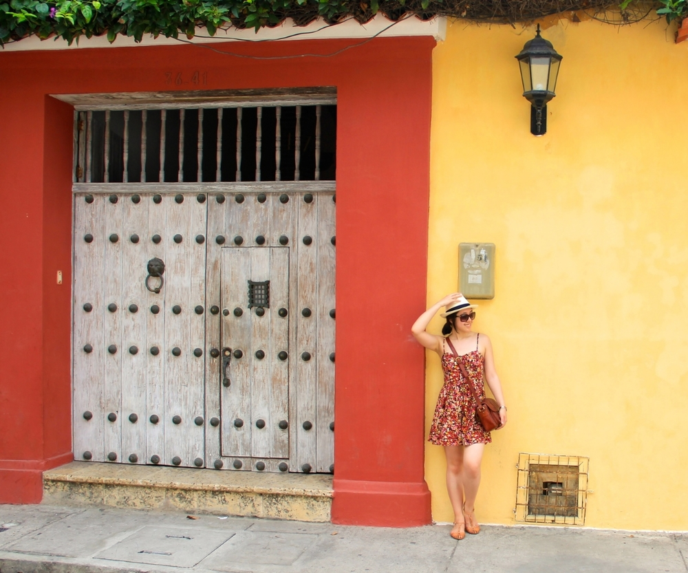 Taken in the streets of Cartagena, Colombia