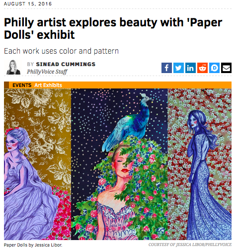 "Explore Philly ""Paper Dolls"" 2016"