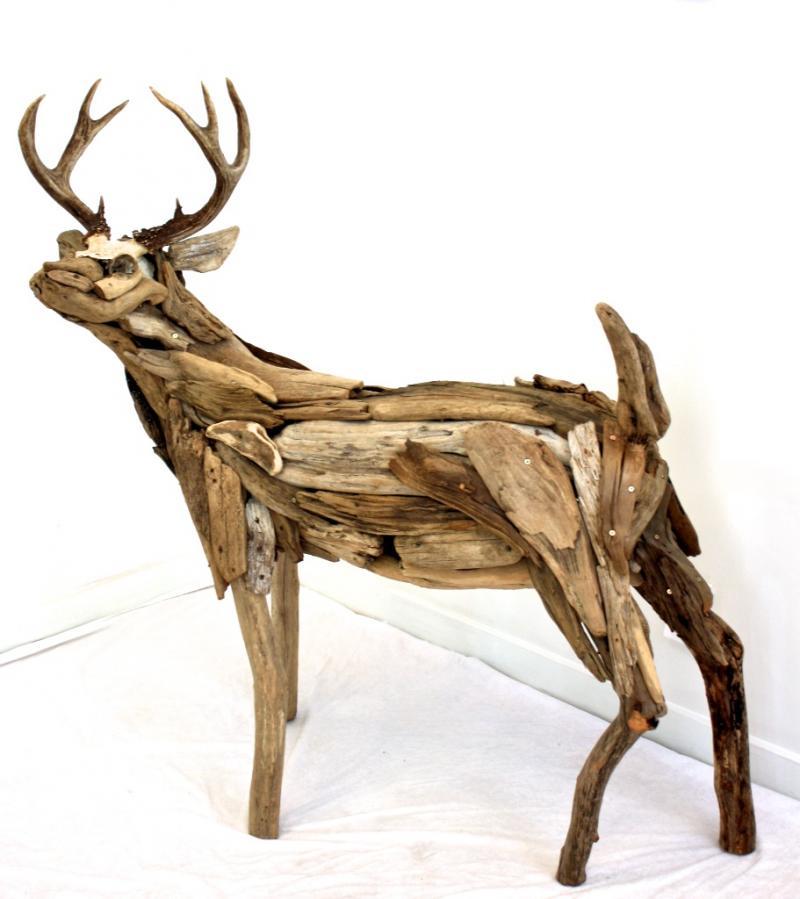 Scent 49x45x19 Wood, Bone SOLD