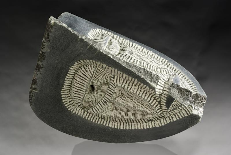 Reclining Mask.2013.chlorite.12 inches-2.jpg