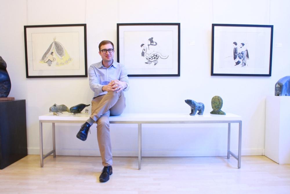 Madrona Gallery, Mayoreak Ashoona Exhibition, November 2014