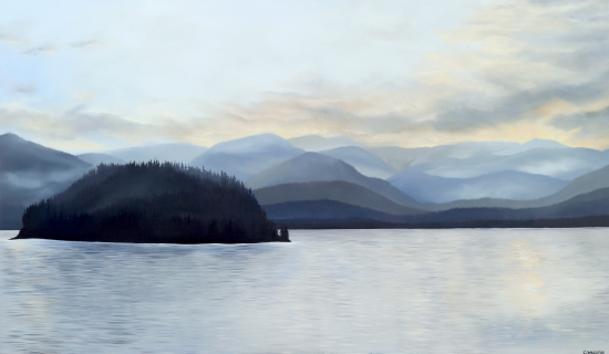 Nootka Sound 72 x 40 Oil on Canvas SOLD
