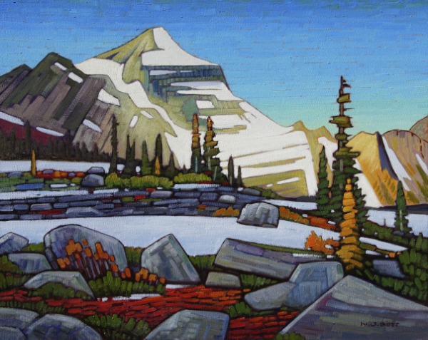 Alpine Eminence 24 x 30 Oil on Canvas SOLD