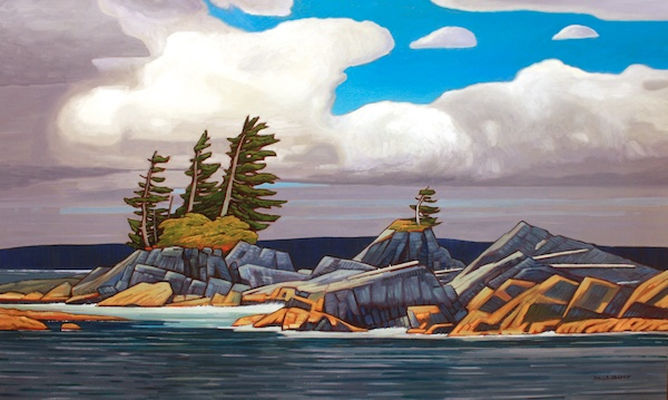 West Coast Atmosphere 36 x 60 Oil on Canvas SOLD