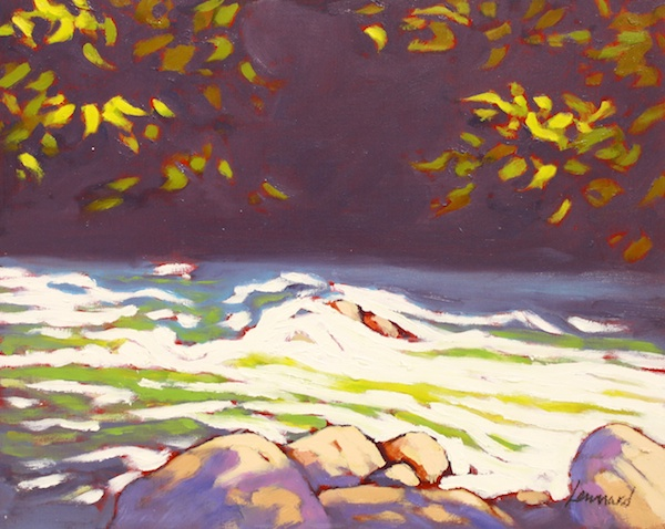 Rapids<br>8 x 10<br>Oil on Board<br>$ 575