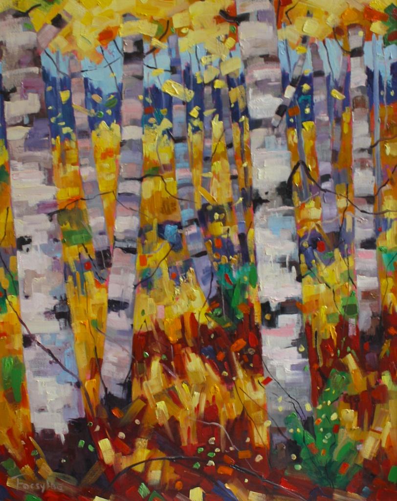 Celebration 30 x 24 Oil on Canvas SOLD