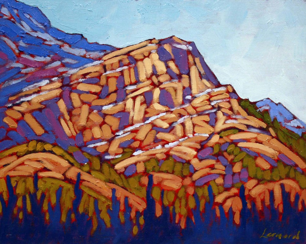 Mountain Top 8 x 10 Oil On Board SOLD