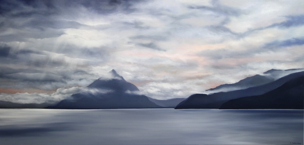 Out There 40 x 84 Oil on Canvas SOLD