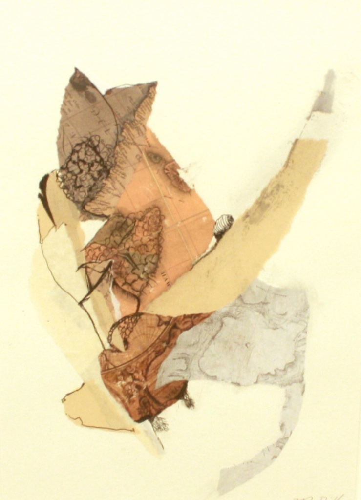 Botanical #13<br>21 x 17<br>Mixed Media on Paper<br>$ 600