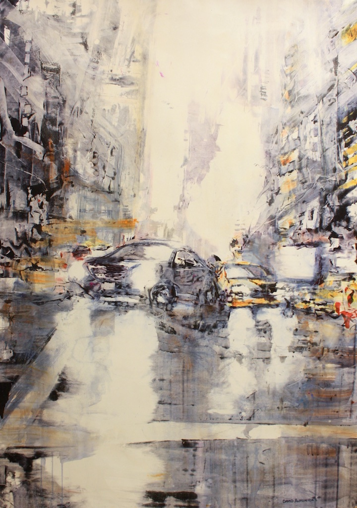 David Antonides<Br>Untitled<Br>42.5 x 29.5<Br>Watercolour