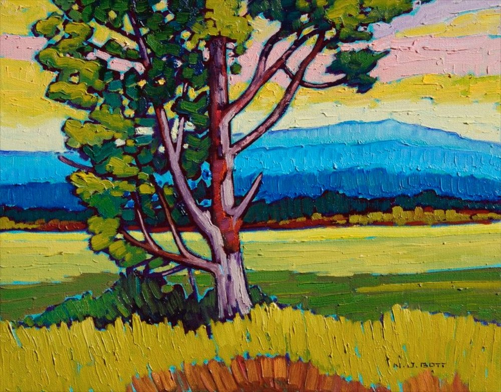 Colors of Summer  11 x 14  Oil on Canvas  SOLD