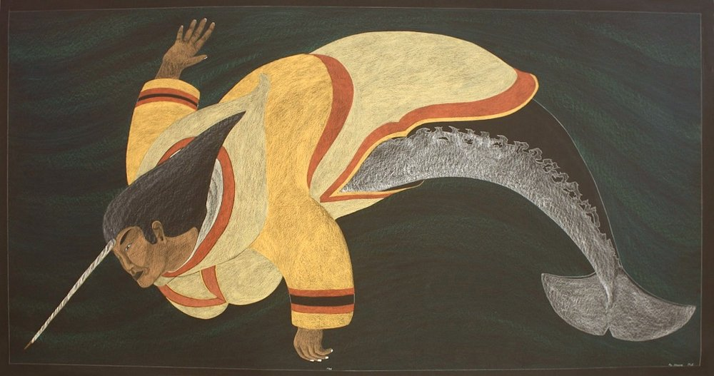 Sedna<Br> 48.5 x 93<Br>Coloured Pencil, Graphite and Ink on Paper<br>$ 10 000