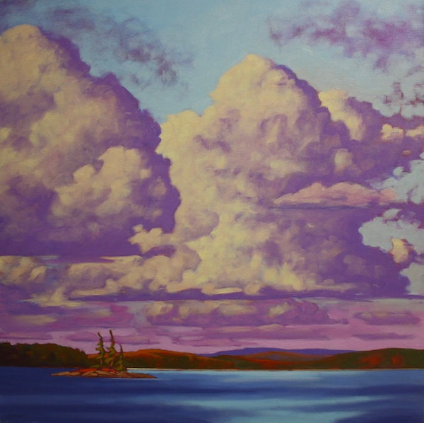 John Lennard<br>After the Storm<br>30 x 30<br>Oil on Canvas<br>$ 2950