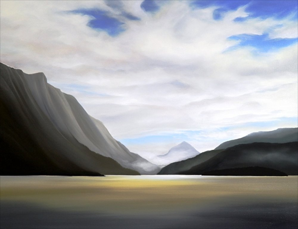 The Flats <br> Corrinne Wolcoski <br> 36 x 48 <br> Oil on Canvas