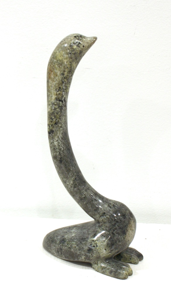 Bird  11 x 5 x 3  Serpentine  SOLD