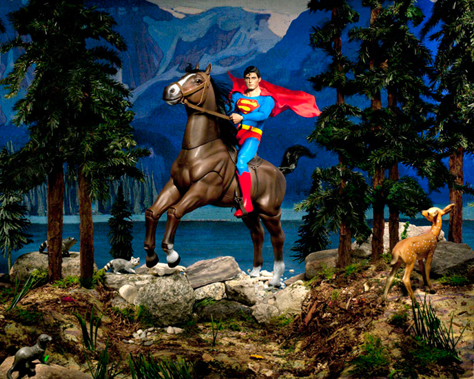 Lake O'Hara (Clark, Northern Dancer and Evil Weasel)<Br>Diana Thorneycroft<Br>40 x 50<Br>Digital Photograph<Br>$ 4750