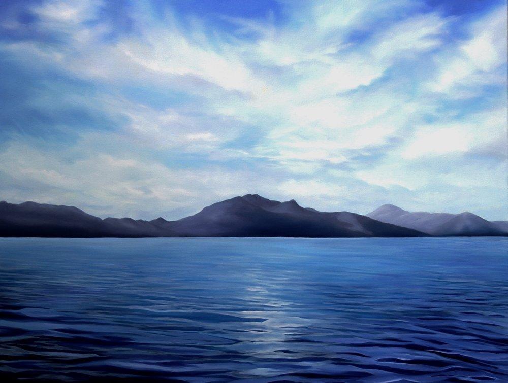 Calvert<Br>36 x 48<Br>Oil on Canvas<br>$ 3400